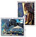 n° 55/59 -  Timbre Polynésie Poste aérienne