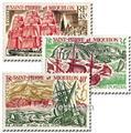 n° 395/397 -  Selo São Pedro e Miquelão Correios