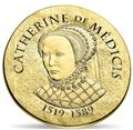 50 EUROS OR - FRANCE - CATHERINE DE MEDICIS