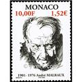 n° 2301 -  Selo Mónaco Correios