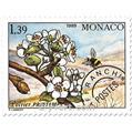 n° 102/105 -  Selo Mónaco Pré-obliterados
