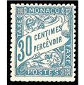 nr. 6 -  Stamp Monaco Revenue stamp