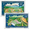 n.o 337/338 -  Sello Nueva Caledonia Correos