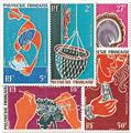 n.o 34 / 38 -  Sello Polinesia Correo aéreo