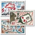 n° 376/378 -  Selo São Pedro e Miquelão Correios