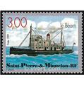 n° 7 -  Timbre Saint-Pierre et Miquelon Bloc et feuillets