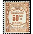 nr. 47 -  Stamp France Revenue stamp