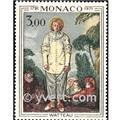 n.o 878 -  Sello Mónaco Correos