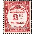 nr. 28 -  Stamp Monaco Revenue stamp