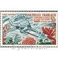 n.o 14 -  Sello Polinesia Correo aéreo