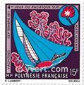 n° 51/54 -  Selo Polinésia Correio aéreo