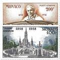 n° 69/70 -  Timbre Monaco Poste aérienne