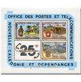 n.o 5 -  Sello Nueva Caledonia Bloque y hojitas