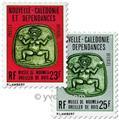 n.o 31 / 33 -  Sello Nueva Caledonia Oficial