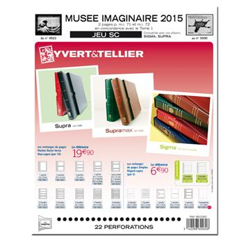 MUSEE IMAGINAIRE SC : 2015 (Jeu avec pochettes)