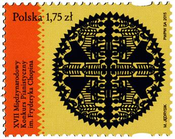 n° 4442 - Timbre POLOGNE Poste