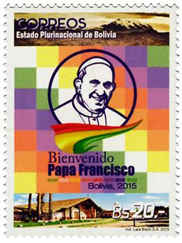 n° 1569 - Timbre BOLIVIE Poste