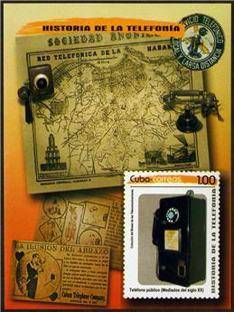 n° 322 - Timbre CUBA Blocs et feuillets