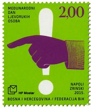 n° 379 - Timbre HERCEG-BOSNA Poste