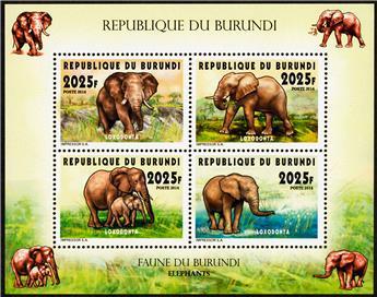 n° 2297 - Timbre BURUNDI Poste