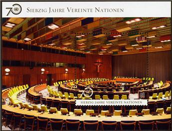 n° 25 - Timbre ONU VIENNE Blocs et feuillets