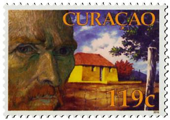 n° 496 - Timbre CURACAO Poste