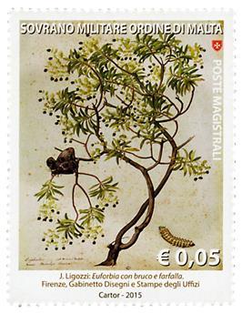 n° 1272 - Timbre ORDRE de MALTE Poste