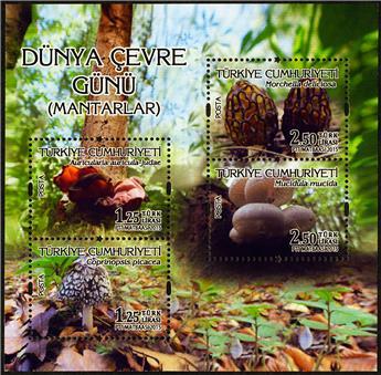 n° 103 - Timbre TURQUIE Blocs et feuillets