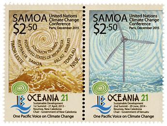n° 1180/1183 - Timbre SAMOA Poste