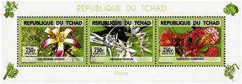 n° 1720 - Timbre TCHAD Poste
