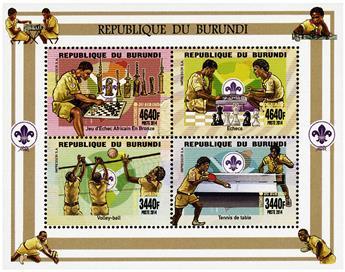 n° 2309 - Timbre BURUNDI Poste