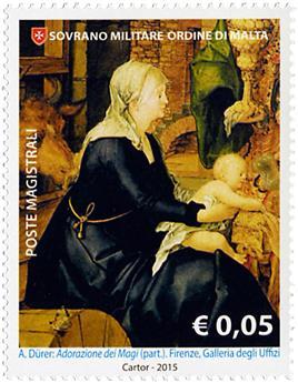 n° 1282 - Timbre ORDRE de MALTE Poste