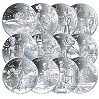 10 EUROS ARGENT - FRANCE 2016 - LE PETIT PRINCE - VAGUE 1 (COFFRET OFFERT)
