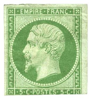 n°12* - Timbre France Poste