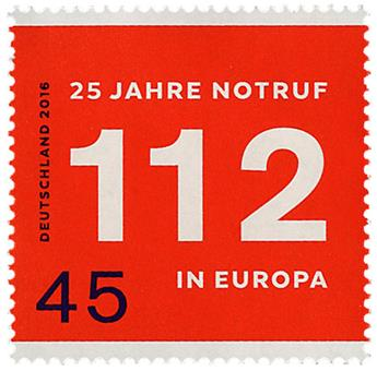 n° 3017 - Timbre ALLEMAGNE FEDERALE Poste