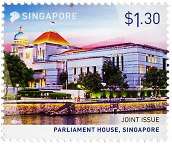 n° 2100/2102 - Timbre SINGAPOUR Poste