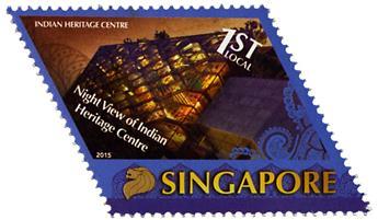 n° 2120/2123 - Timbre SINGAPOUR Poste