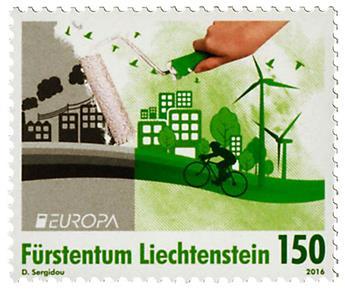 n° 1730/1731 - Timbre LIECHTENSTEIN Poste (EUROPA)
