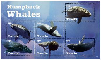 n° 1839 - Timbre TUVALU Poste