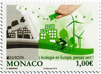n° 3036 - Timbre Monaco Poste (EUROPA)