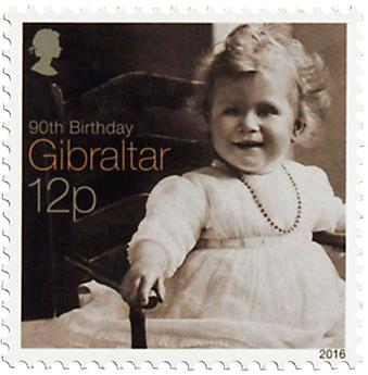 n° 1717/1725 - Timbre GIBRALTAR Poste