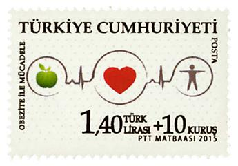 n° 3770 - Timbre TURQUIE Poste