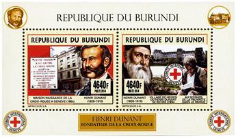 n° 2353 - Timbre BURUNDI Poste