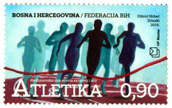 n° 393 - Timbre HERCEG-BOSNA Poste