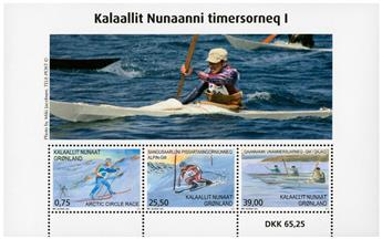 n° F705 - Timbre GROENLAND Poste