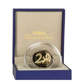BE : 2 EUROS COMMEMORATIFS 2016 : FRANCE (Mitterrand)