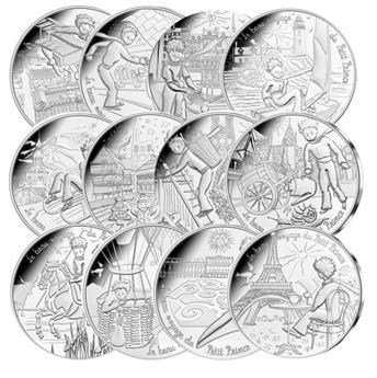 10 EUROS ARGENT - FRANCE 2016 - LE PETIT PRINCE - VAGUE 2