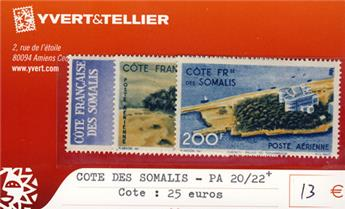 COTE DES SOMALIS - PA n° 20/22*