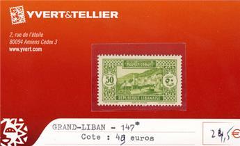 GRAND LIBAN - n° 147*