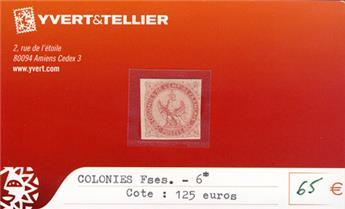 COLONIES FRANCAISES - n° 6*